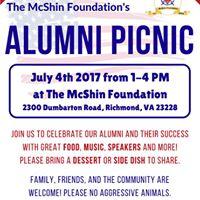 McShins Alumni Picnic