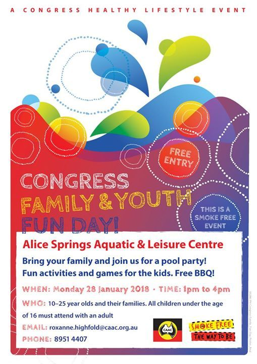 Congress Family and Youth Fun Day at the Pool