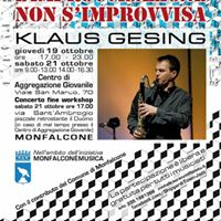 Klaus Gesing Open Jazz Workshop