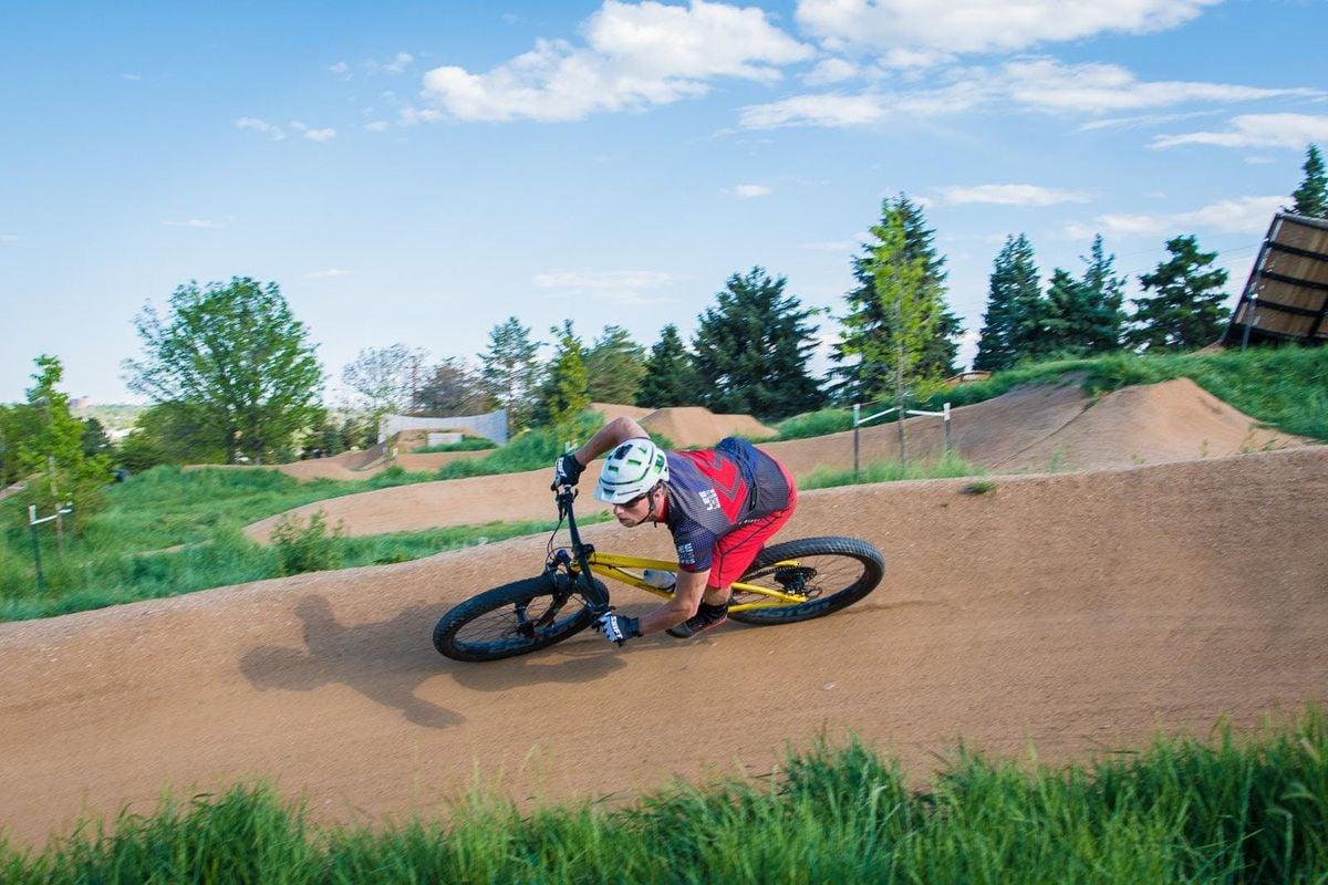 Level 1 MTB skills at Ruby Hill Bike Park Denver CO