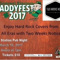 Paddyfest ft. Two Weeks Notice