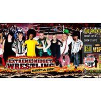Extreme Midget Wrestling in Bowie TX at The Rack Pub &amp Eatery