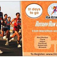 Rotary Run to End Polio- Navi Mumbai