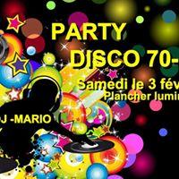 Party DISCO 70-80 avec DJ MARIO