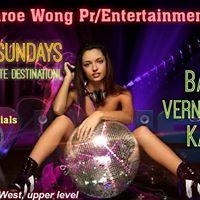 Angel Monroe Wong PrEntertainment presents Play hard Sundays