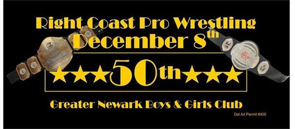 RightCoastPro Wrestling 50th