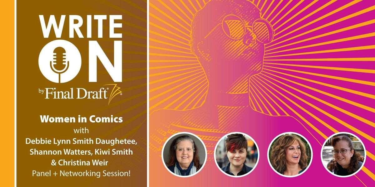 The Final Draft Write On Q&A/Meetup: Women in Comics at New