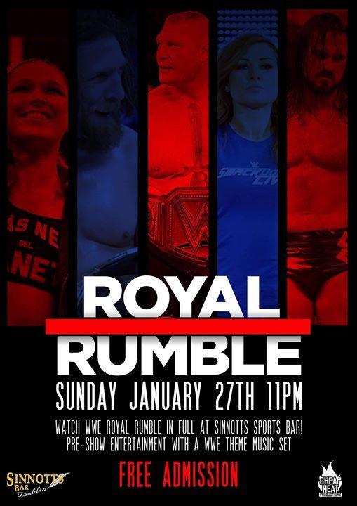 WWE Royal Rumble - Free Admission