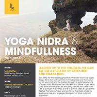 Yoga Nidra &amp Mindfullness with Tisha White