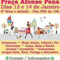 Feira da Praa Afonso Pena na Tijuca