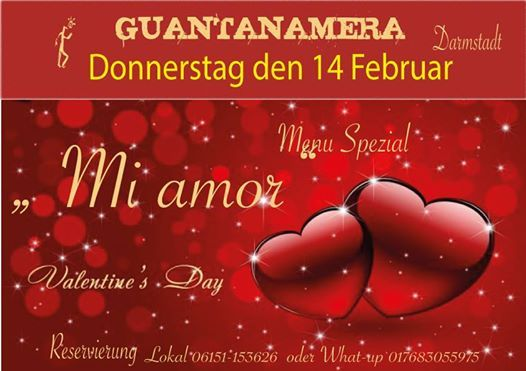 Valentinstag 2019 At Restaurant Cocktailbar Guantanamera