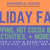 Powerful Voices Holiday Fair