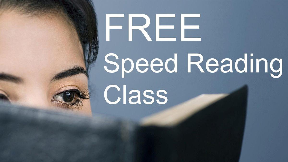 Free Speed Reading Class - Glendale CA