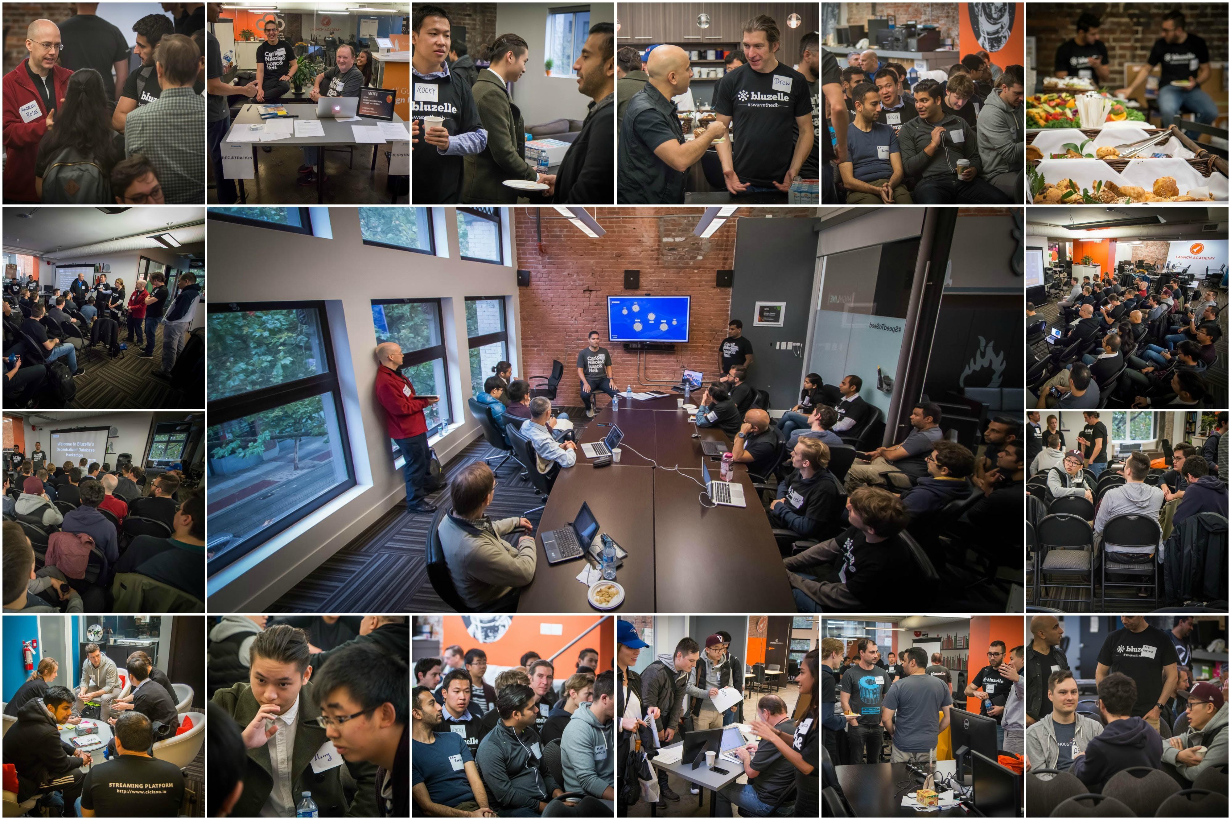 Bluzelle Decentralized Database Hackathon Apr 2018