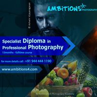 Specialist Diploma in Professional Photography