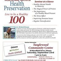 Health Seminar with Dr. Richard Brouse