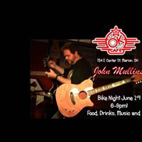 John Mullins - Solo Live Bike Night 6-9pm