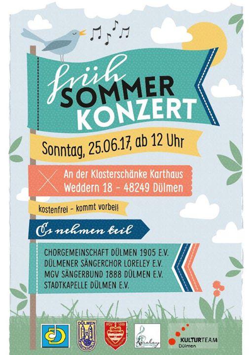 FrühSommerKonzert at Kulturteam Stadt Dülmen, Dülmen