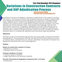 Variations in Construction Contracts and SOP Adjudication Proces