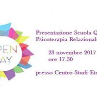 Open Day Scuola Psicoterapia