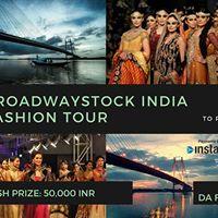 BROADWAYSTOCK INDIA FASHION TOUR  KOLKATA