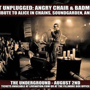 Grungefest Unplugged Angry Chair & Badmotorfinger