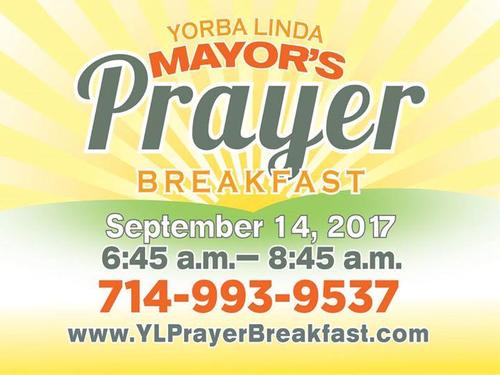 Yorba Linda Mayors Prayer Breakfast