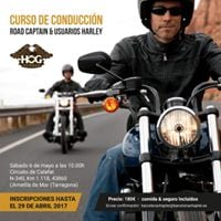 Curso de conduccin Road Captain y usuarios Harley