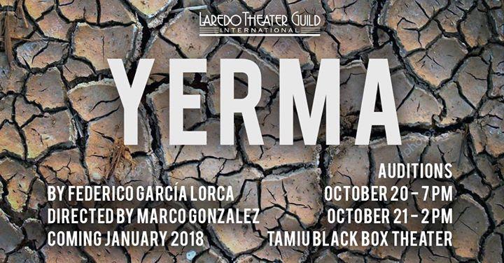 Audition Yerma (In Spanish)