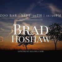 Brad Hoshaw at Zoo Bar  Lincoln Calling