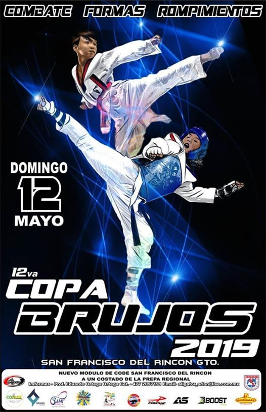 Copa Brujos At Inema Jaguares Tkd Guanajuato