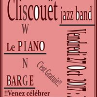 Cliscout JB au Piano Barge