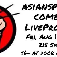 Asiansploitation August Comedy Lab
