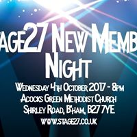 Stage27 New Members Night
