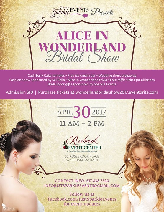 Alice in Wonderland Bridal Show