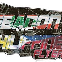 Lebanon vs Philippines FLyers