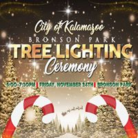 Bronson Park Tree Lighting Ceremony