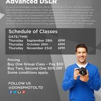 Advanced DSLR Photography Lesson