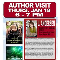 Author Visit with J. Andersen