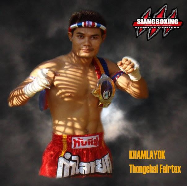 Muay Thai Leiri - Thongchai Lamomprom (Thep)