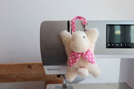 BERNINA Easter Day Workshop Bunny Cardholder