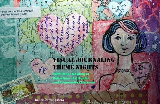 Visual Journaling Art Theme Nights
