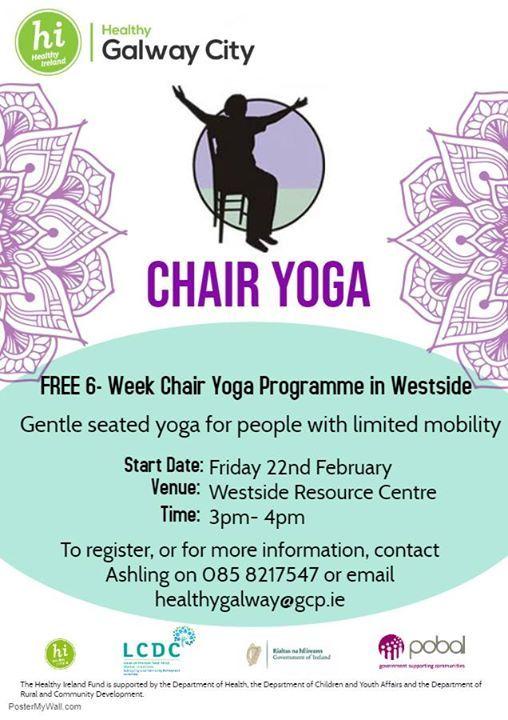 Free 6-week Chair Yoga Programme in Westside