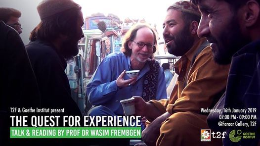 The Quest for Experience Talk & Reading by Prof Wasim Frembgen