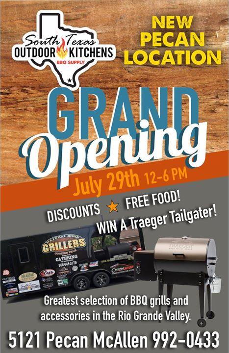 Grand Opening 5121 Pecan Mcallen Tx At South Texas Outdoor