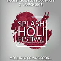 Splash Holi Festival