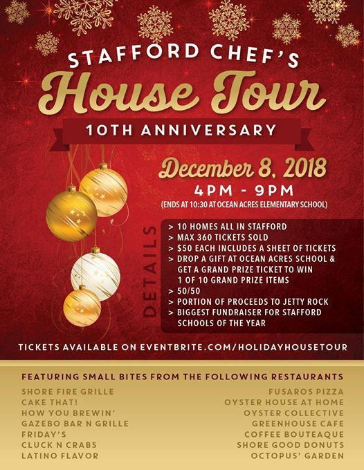 Stafford Holiday House Tour