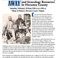 Hidden Away - African American History and Genealogy Resources in Fluvanna