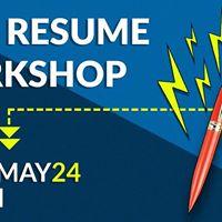 Free San Diego Resume Workshop at United States University
