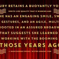 Lane Bradbury Original Dainty June in GYPSY at Dont Tell Mama